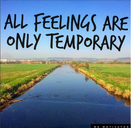 feelings temporary